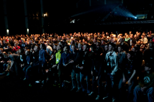Lecture audience at EVE Fanfest 2013