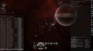 EVE Wormhole PVE capital ship escalation