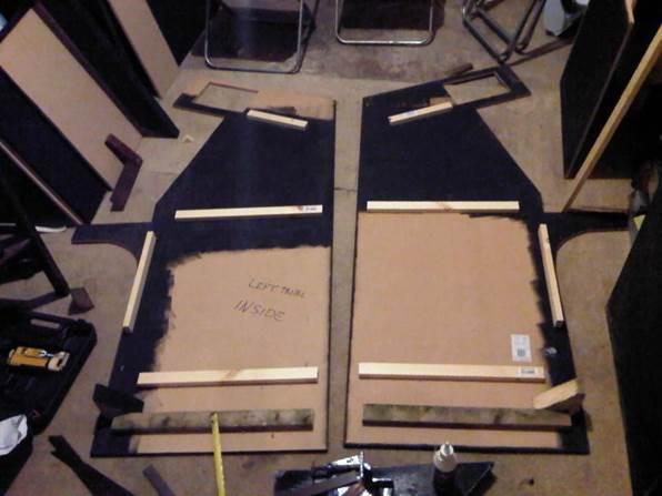 arcade cabinet build sides