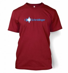 I Like And Dislike Schrodinger t-shirt