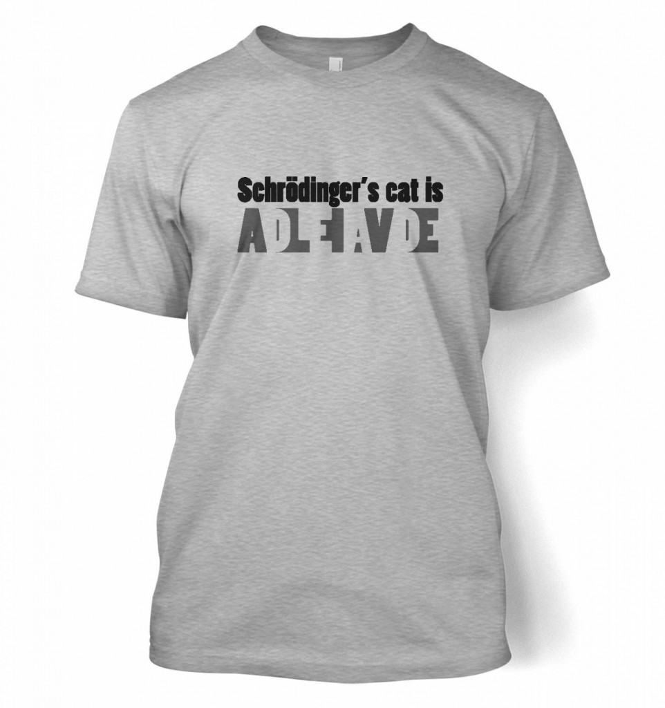 Schrodinger's Cat is dead and alive
