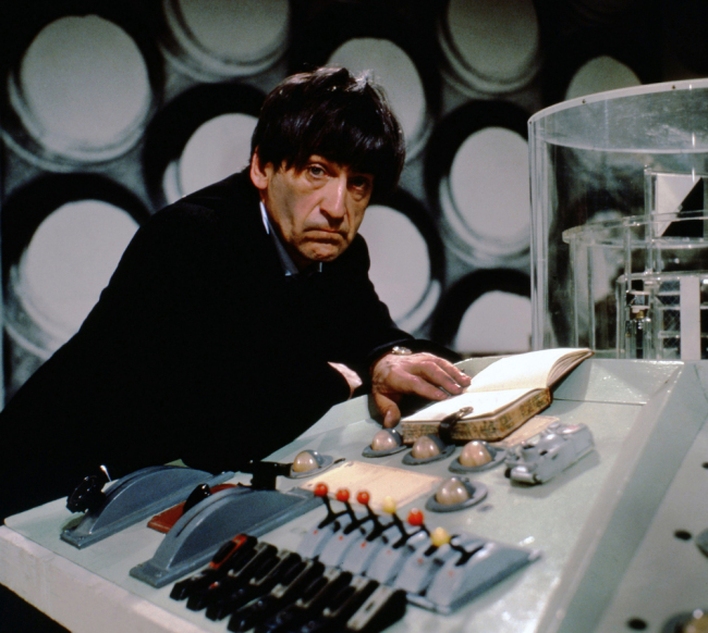 patrick troughton doctor who