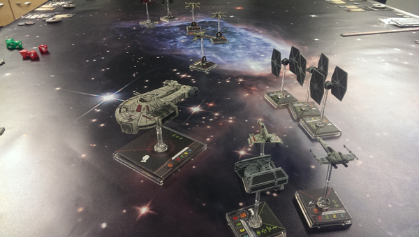 Space Gaming Mats: X-Wing: I've got a bad feeling about this