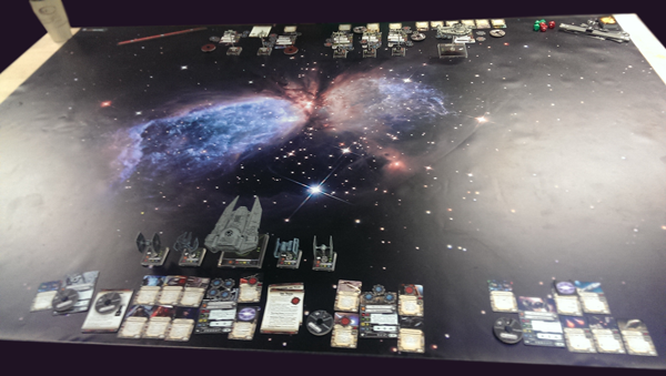 Space Gaming Mats: X-Wing: How not to spend 200 points