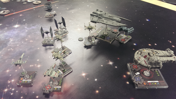 Space Gaming Mats: X-Wing: it's a traaaaaaap