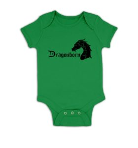 Dragonborn baby grow