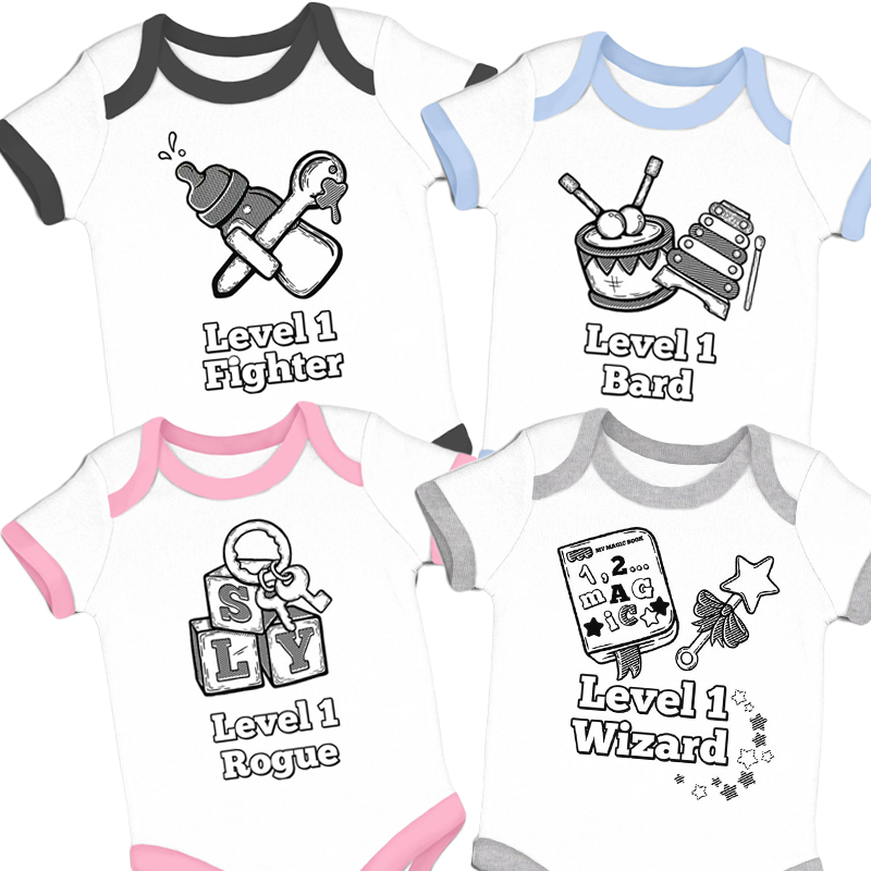 Level 1 RPG baby grows