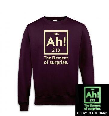 18399dec9 ... Ah! The Element of Surprise (glow in the dark) sweatshirt ...